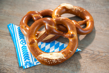 Bavarian Pretzels. Oktoberfest