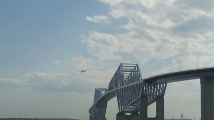 Timelapse over Tokyo Gate Bridge