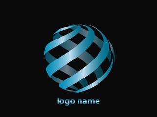 Logo Design blau