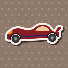 Transportation car flat icon elements background,eps10
