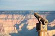 Leinwanddruck Bild - Oservation Telescope Grand Canyon AZ