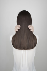 beautiful healthy long hair