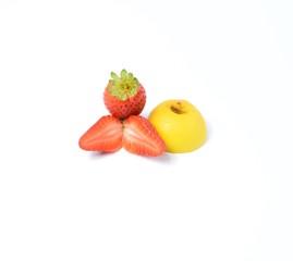 fragola e limone bio