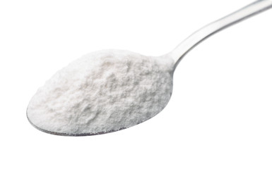 Spoon of baking soda