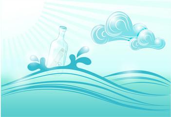 Bottle in the Sea.