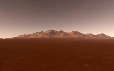 Mars Scientific illustration