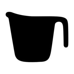 Messbecher Silhouette