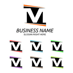 M Letter Logo Vol.4