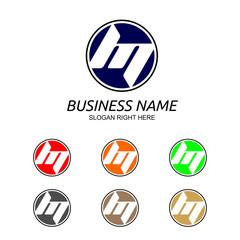 M Letter Logo Vol.5