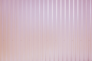 Pink toned Corrugated metal texture surface
