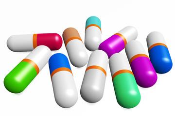 Medication capsules