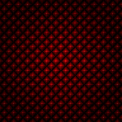 vector abstract red faceted black background