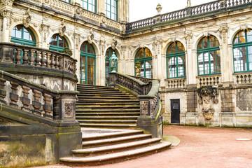 Zwinger courtyard