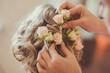 Beauty wedding hairstyle. - 81313091