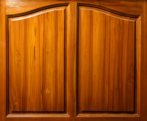 wood texture background in window  shape