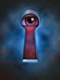 Privacy violation poster