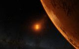 Mars  Scientific illustration -  planetary landscape - 81315688