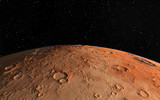 Mars  Scientific illustration -  planetary landscape - 81315836