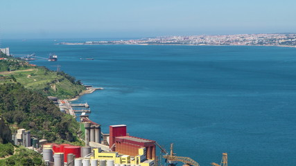 River Tagus (Tajo, Tejo). It's the longest river on the Iberian