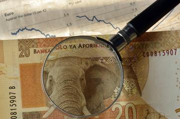 Suid-Afrikaanse rand Südafrikanischer راند جنوب أفريقي
