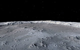 Moon scientific illustration - 81316612