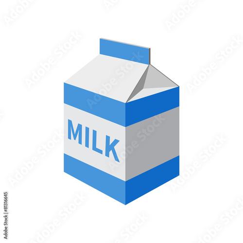 milk packet - 81316645