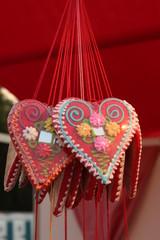 Gingerbread Cookie Heart