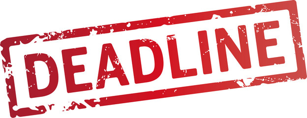 Stempel Deadline