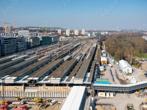 Stuttgart 21 Baustelle - 81318459