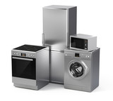 Home appliances. Refrigerator, washing machine, etc