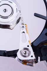 Close Up Hard Disk