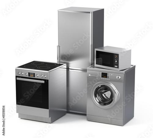 Home appliances. Refrigerator, washing machine, etc - 81318856