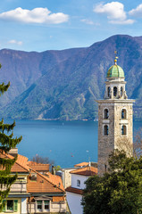 The Cathedral of Saint Lawrence in Lugano - Switzerland