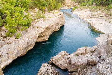 The Koprulu canyon