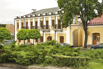 Marketplace in Wlodawa. Poland