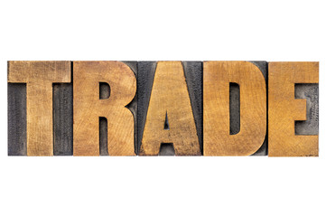 trade word typography