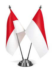Indonesia - Miniature Flags.