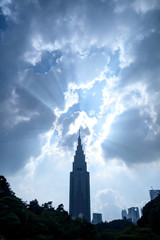 都心の高層ビル