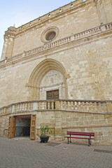 Santa Eulalia church, Alaior village, Minorca, Balearic islands,