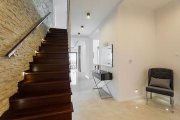 Designed modern interior