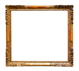 picture frames. Isolated over white background
