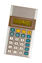 Old calculator - loan