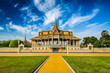 Leinwanddruck Bild - Phnom Penh Royal Palace complex