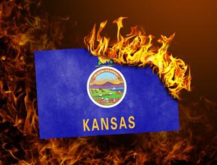 Flag burning - Kansas