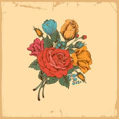Luxury rose