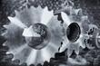 aerospace titanium cogwheels and gears