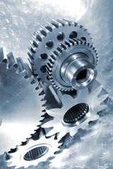 aerospace parts, gears and cogwheels in titanium