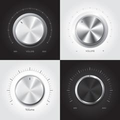 Set of technology music button, Vector