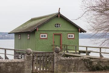 Fischerhütte, Bootshaus