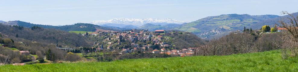 Les monts d' Auvergne